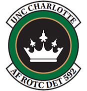 Iron Eagles Serves Air Force ROTC, UNC Charlotte's ASAF ROTC logo, detachment 592