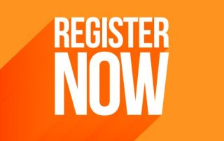 ReStart is Right Around The Corner, Register now in orange and white