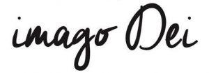 """Missio Dei - the words """"Imago Dei"""" written in black on a white screen"""