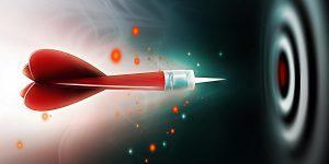 Missio Dei, the mission of God, an arrow headed for a bullseye