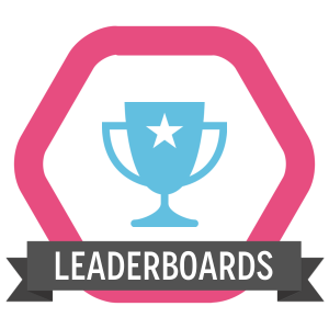 LeaderFiT Challenge - Week 1 in Review, champion cup with the word leaderboard written below