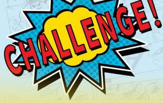 LeaderFiT Challenge - Week 4 in Review, the word challenge in red