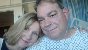 From Cardio to Cardiac Arrest and Back, joy and david in the hospital