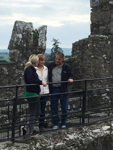From Cardio to Cardiac Arrest and Back, 3 adults on top of the Blarney Castle
