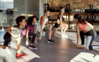 Teens in Gym Setting - Summer Program Returns