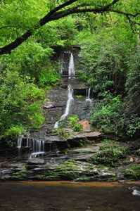 Photo of Tom Branch Falls. Join Challenge The National Parks! Week 2
