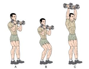 picture of push press exercise