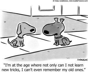 Teach Your Old Brain New Tricks